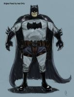 Loved Axels Batman Sketch by FUNKYMONKEY1945