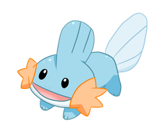 Mudkip c: by shortiebecca
