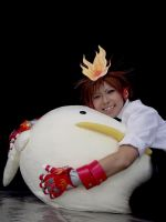 KHR - Tsuna And Hi Bird by SangzHime