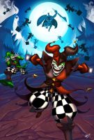 shaco and friends for lol fanart contest by crypt-lord