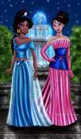 Jasmine and Mulan Designer Collection by Mareishon