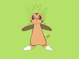 Chespin | 6th Gen Starter by CorgiCommander