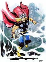 Thor by stokesbook