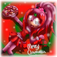Kathy- Merry Christmas everyone by Kathy-the-echidna