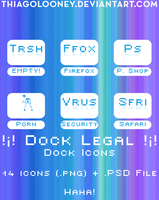 Dock Legal - DOCK ICONS by thiagolooney