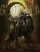 Godzilla Poster Version by NoBackstreetboys