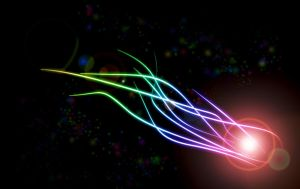 Abstract Meteor Wallpaper by Jindra12