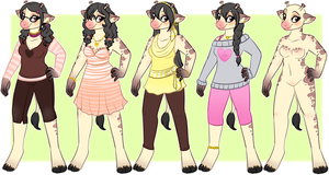 Winona Outfits- by oCrystal
