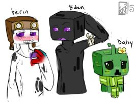 Minecraft: The Bunch by Kinla