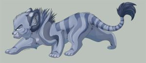 Cute Evil Tigon by tigon