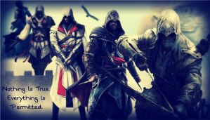 The Assassins of Assassin's Creed by GamerGirl929