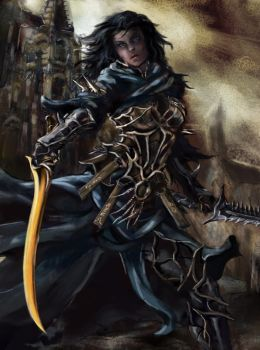 Lord's Blade Ciaran Cropped (no mask) by zhenderson