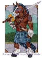 Clan Forbes Clydesdale by Beerhorse