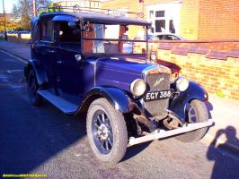 AUSTIN OLDTIMER front view by magicandbrother