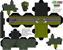Frankendonny TMNT Cubee by etchings13