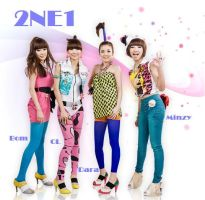 2NE1 by TomboyNeko