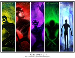 Grieving Series by BluDrgn426