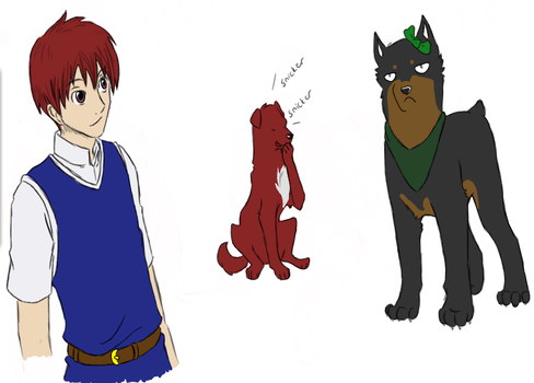 Ys doodles by Kyoushiro