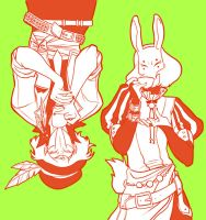 Hatter and Hare by kmwoot