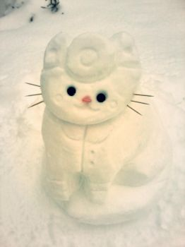 Snow Doctor Cat by Wyakin