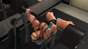 Laura Bench Press by arkbishop