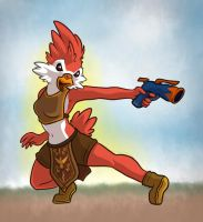 Starbound Avian by alliemackie