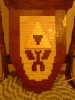 Lego Legend of Zelda Shield by LegoBlockSmith
