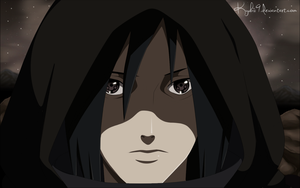 Madara leaving the village by Kyuubii9