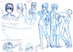 Reference sheet: Andia by trainingartist