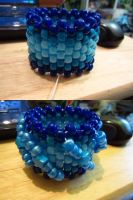 3D 'Wave' Cuff by cadillacphunque