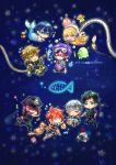 Free! ~ Future Fish (plastic folder back) by Evil-usagi