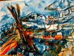 Lobster Boat by LaurieLefebvre