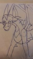 napkin doodle 2 by Princess-Shannen