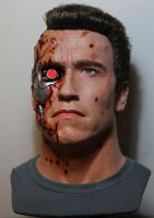 NEW T2 Terminator BD lifesize bust! pic1 by godaiking