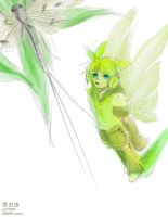 Vocaloid - insect by yamcat