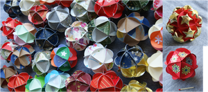 Folded Paper Ball by Eti-chan