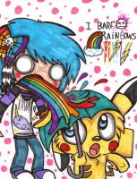 Rainbow Puke by Violent-Rainbow