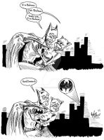Bat Problems by OuthouseCartoons