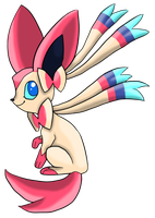 Sylveon by beepybot