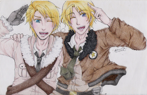 Hetalia- Brothers Forever! by kitty614