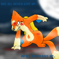 Never Give Up by D4wn-Flow3r