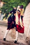 Steampunk Harley Quinn - Cosplay by Thecrystalshoe