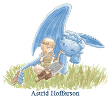 Httyd-Astrid by 4leafcolour