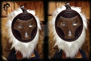 Bard Leather mask by Feral-Workshop