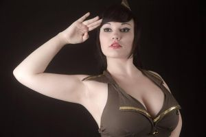 pin up style photoshoot me! by madam-taka