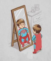 Baby Superman by php100