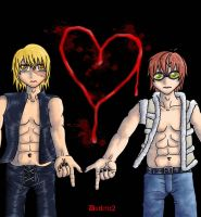 Death note:  M and M by duelme2