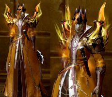 Mairon (Sauron) in Aion : Level 51 by fallenRazziel