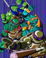 Can-i-bus TMNT Colored by DaQuantum