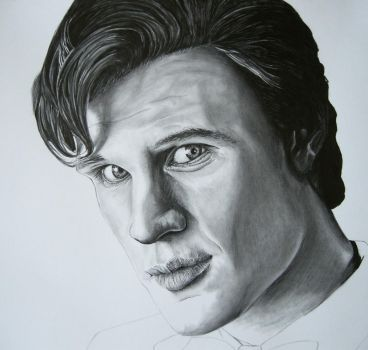 Dr. Who - Matt Smith WIP 2 by Anthony-Woods